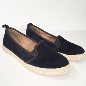 Clarks Azella Major Black Suede Loafer